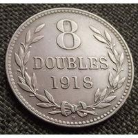 Гернси. 8 дублей 1918