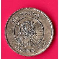 29-12 Исландия 1 крона 1981 г