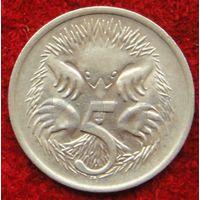 7312:  5 центов 1980 Австралия медно-никелевый сплав