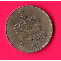 30-05 Норвегия, 1 крона 1979 г