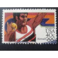 США 1983 олимпиада, толкание ядра