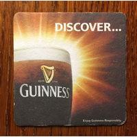 Подставка под пиво Guinness No 36