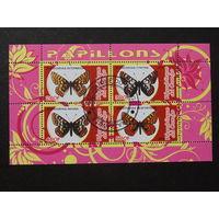 Конго 2010г. Бабочки.