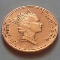 1 пенни, Великобритания 1986 г.