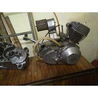Двигатель  мопеда v-50