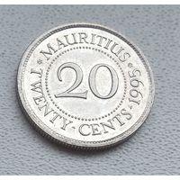 Маврикий 20 центов, 1995 7-1-10