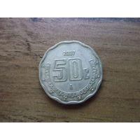 Мексика 50 сентаво 2007