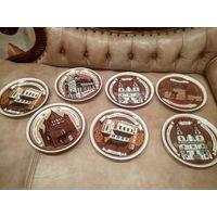 Тарелки настенные коллекционные МФЗ поштучно минский фарфоровый завод