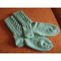 Вязаные женские носки