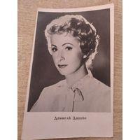 Актриса Даниель Даррье(Франция) 1961г