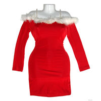 Вечернее платье  универсальный размер (40-52), абсолютно новое, пр-во Турция, темно-красный тонкий стрейч (очень тянется), неглубокое декольте с отделкой из лебяжьего пуха, бретельки выполнены из иску