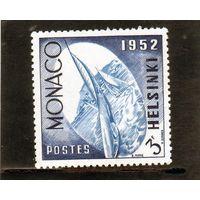 Монако. Ми-460. Парусный спорт. Яхта. Регата. Хельсинки.1952