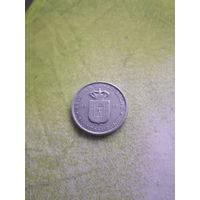 БЕЛЬГИЙСКОЕ КОНГО  РУАНДА- УРУНДИ 5 франков 1958 год