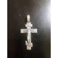 Серебряный крестик 4 г. 925 пробы