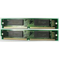 Память 32MB (8M x2шт + 8M x2шт) SIMM-72pin EDO для ретро-плат Pentium