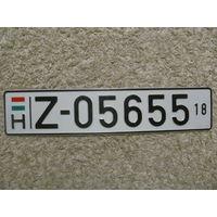 Автомобильный номер Венгрия Z-05655