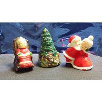 Свечи коллекционные . Санта
