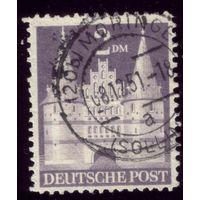 1 марка 1948 год Германия Бр. зона оккупации 98