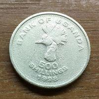 500 шиллингов 1998 Уганда