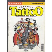 Американские Тату American Tattoo Альбом Журнал Каталог 1998 формат А4 66 стр