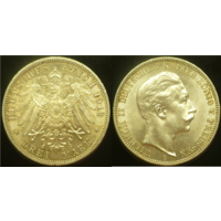 3 марки 1912 г Пруссия