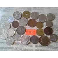 С рубля! 23 монеты! Все разные! (лот 12.Э) Впереди новые монетные аукционы!