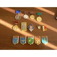 Вднх  медали,значки в т.ч. серебро