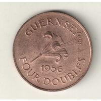 Гернси 4 дубл 1874