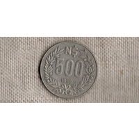 Уругвай 500 песо 1989//(Li)