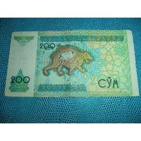 200 сум 1997  Узбекистан