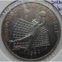 Ямайка 1 доллар 1982 года. Футбол.