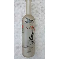 Бутылка роспись hand made