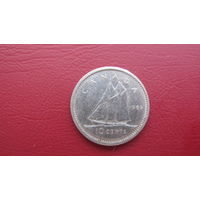 Канада 10 центов 1969