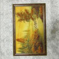 Картина из натурального янтаря