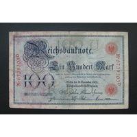 Германия / 100 mark / 1905 год / Ro-23 (b) / контрольный номер шириной 29 мм