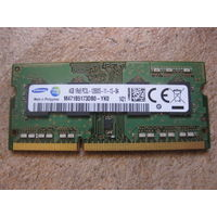Оперативная память 4gb DDR3L Samsung 12800