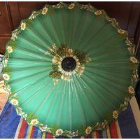 Зонт Декоративный Ручная роспись Англия винтаж