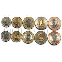 Ангола 5 монет 2012-2014 года