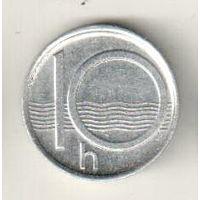 Чехия 10 геллер 1995