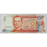 ФИЛИППИНЫ,20 песо 2007г.