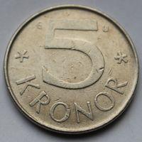 Швеция, 5 крон 1983 г.