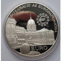 Венгрия, 2000 форинтов, 1997, серебро, пруф