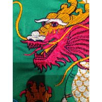Халат двусторонний с драконом