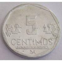 Перу 5 сентимов 2012 год