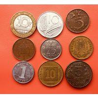 9 монеток - 8 стран. #09