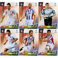 Коллекция PANINI Лига Чемпионов УЕФА 2011-2012. Adrenalyn XL // Otelul // Costin