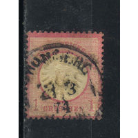 Германия Имп 1872 Герб Малый щит Зона марки Стандарт #4