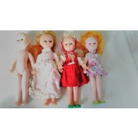 Кукла СССР, кукла Красная шапочка, Золушка