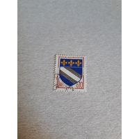 Марки Франция 1963