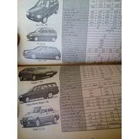 Каталог авто 97-98гв